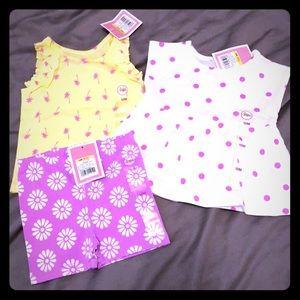 Lot of Circo summer clothes baby girl NWT